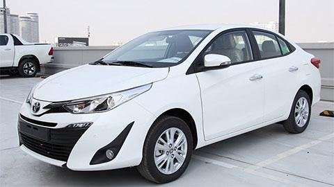 Toyota Vios 2020 giảm giá cực mạnh, khiến Hyundai Accent, Honda City 'khóc thét'