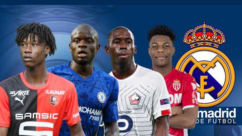 """4 ngôi sao có thể thay Casemiro thành """"Makelele mới"""" của Zidane"""