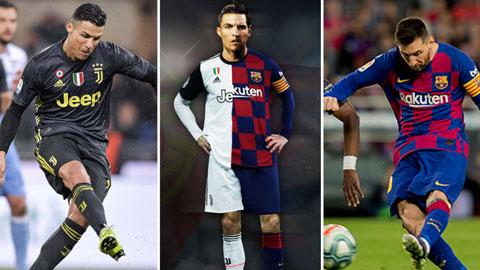 Siêu cầu thủ kết hợp giữa Messi và Ronaldo sẽ ra sao?