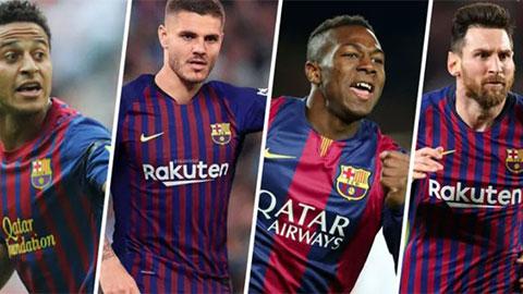Đội hình Barca khủng thế nào nếu họ chỉ dùng cầu thủ từ lò La Masia hiện còn thi đấu?