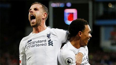 Liverpool thống trị 3 giải thưởng Ngoại hạng Anh
