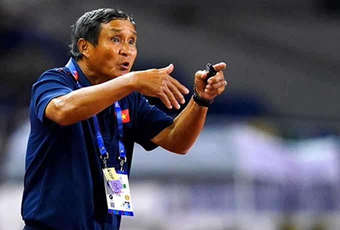 HLV Mai Đức Chung khẳng định đây chưa phải là thời điểm mà bóng đá Việt Nam đã vượt tầm Đông Nam Á