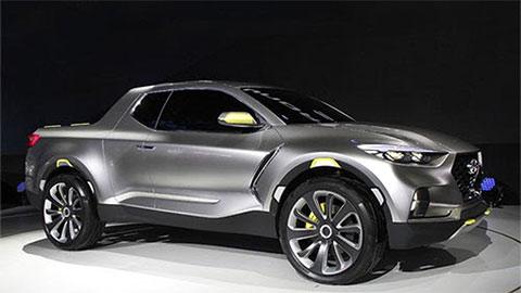 Hyundai Santa Cruz thiết kế siêu ngầu, giá mềm, đấu Ford Ranger