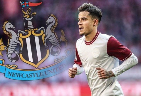 Newcastle muốn có Coutinho