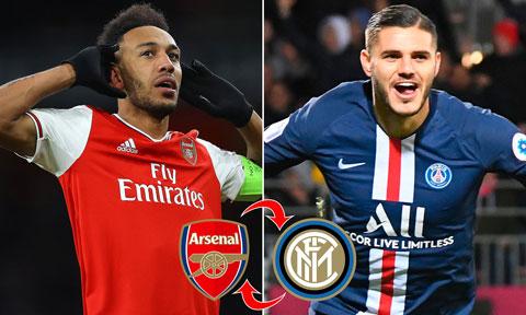 Arsenal đang có cơ hội chiêu mộ Icardi