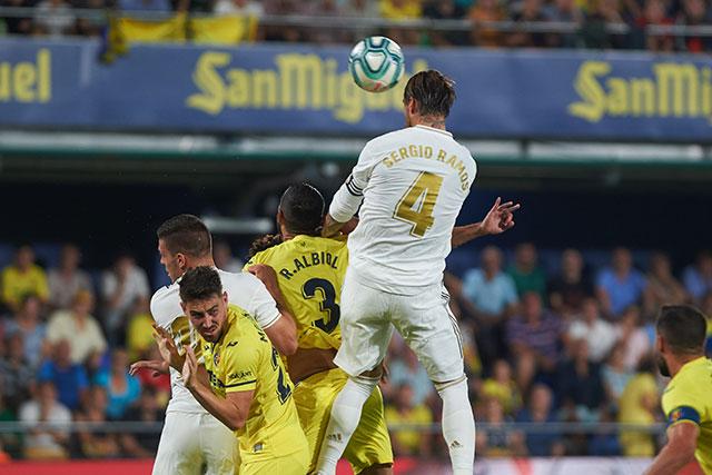 Ramos rất thích ghi bàn