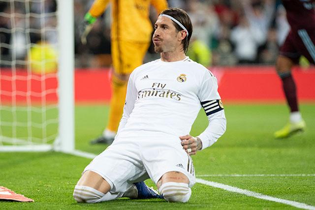 Ramos không có duyên với Champions League trước tuổi 25