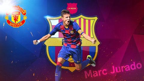 Marc Jurado, tài năng trẻ vừa từ chối gia hạn với Barca để sang M.U là ai?