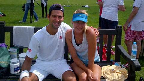 Sharapova và buổi hẹn đầu tiên nhớ đời với Djokovic