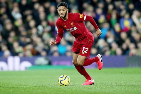 Đã thi đấu cho Liverpool gần 5 năm, nhưng Joe Gomez vẫn mòn mỏi chờ bàn thắng đầu tiên