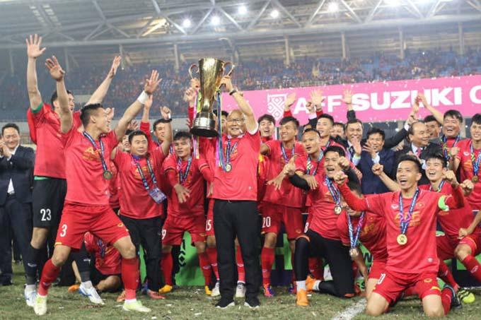 HLV Park Hang Seo đặt mục tiêu bảo vệ chức vô địch AFF Cup