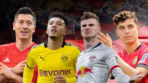 Bayern cần dè chừng Dortmund, Leipzig hay Leverkusen khi Bundesliga trở lại?