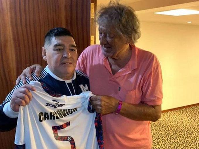 Maradona rất ái mộ El Trinche