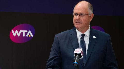 Chủ tịch Steve Simon (WTA) rất tán đồng ý tưởng sáp nhập với ATP