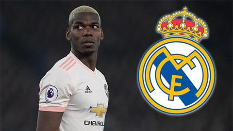 Pogba đòi mức lương không thể chấp nhận ở Real