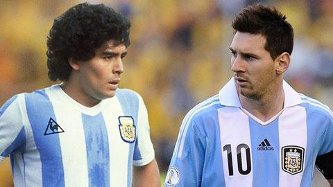 'Messi là số 1 nhưng Maradona đến từ hành tinh khác'