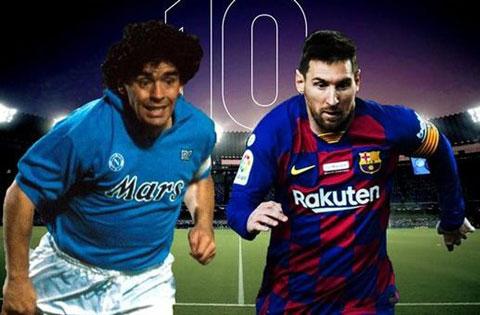 Cuộc tranh cãi xem Maradona và Messi ai xuất sắc hơn vẫn chưa có hồi kết
