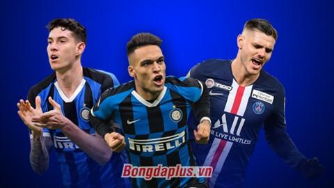 3 cầu thủ Inter Milan có thể gạ Arsenal trao đổi với Aubameyang