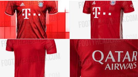 Bayern đã giới thiệu mẫu áo đấu mùa sau