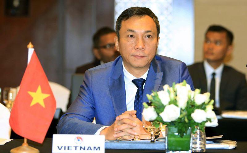 Phó chủ tịch thường trực VFF Trần Quốc Tuấn cho biết mục tiêu của U20 Việt Nam là giành vé dự U20 World Cup 2021
