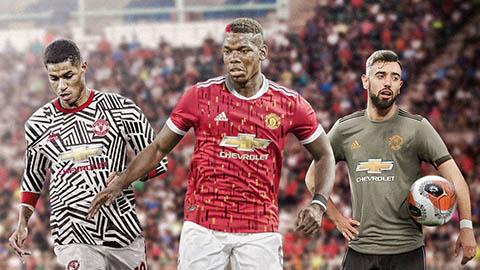 3 bộ áo đấu của M.U mùa giải 2020/21 được... Barca tiết lộ