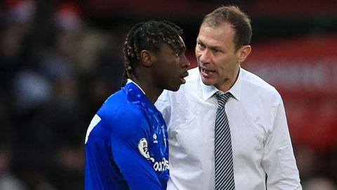 Moise Kean không còn được ưa thích tại Everton do ý thức kỷ luật rất kém