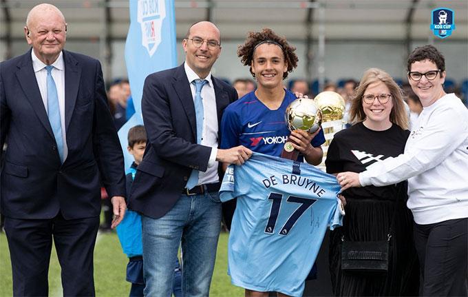 Webster giành Quả bóng vàng ở Kevin De Bruyne Cup