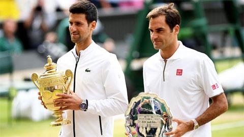 Djokovic đánh bại Federer ở chung kết Wimbledon năm ngoái
