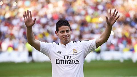 80% khả năng James Rodriguez sẽ cập bến Atletico
