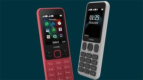 Nokia 125 và Nokia 150 trình làng với thiết kế cổ điển, giá chỉ từ 550 ngàn đồng