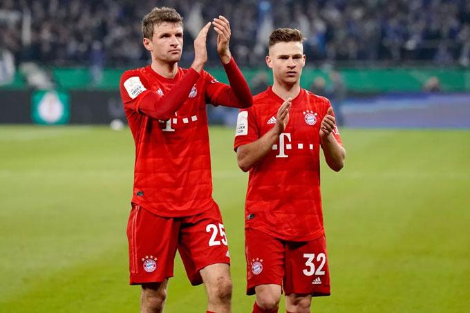 Bayern đang dẫn đầu Bundesliga