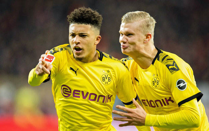 Sancho và Haaland đang là 2 trong số những ngôi sao trẻ đáng xem nhất             Bundesliga