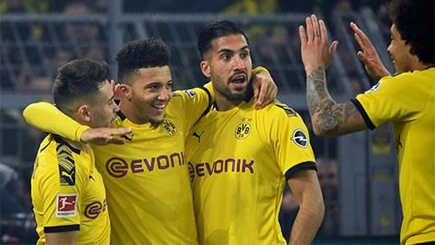 Dortmund thiệt quân trước đại chiến