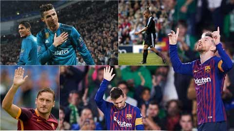 10 cầu thủ được CĐV đối phương vỗ tay tán thưởng