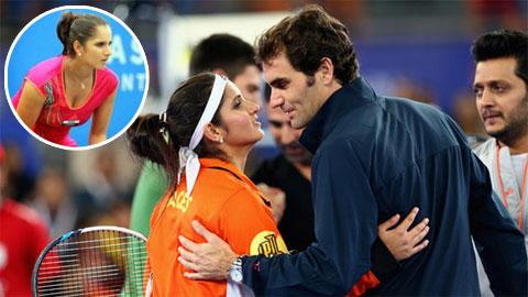 Người đẹp Ấn Độ: 'Federer, kẻ lập dị cho tôi cảm giác ấm áp'