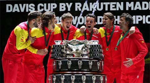 Nadal vô địch Davis Cup 2019 cùng đội tuyển Tây Ban Nha
