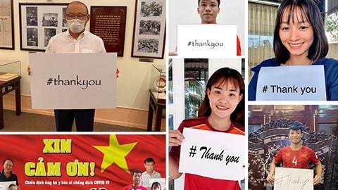 Chủ tịch FIFA gửi thư cảm ơn bóng đá Việt Nam đã chung tay chống Covid-19