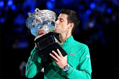 Djokovic vô địch Australian Open 2020