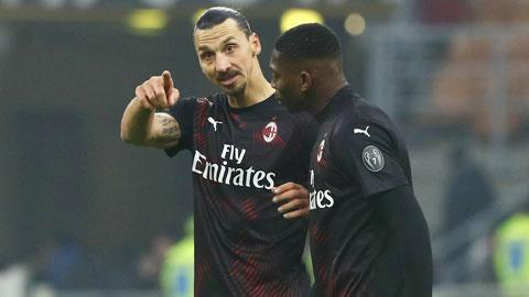 Ibra cảm thấy không được tôn trọng ở Milan và anh sẽ ra đi vào cuối mùa này
