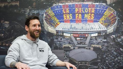 Messi trong buổi trả lời phỏng vấn Diario Sport và Mundo Deportivo