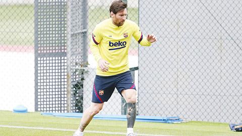 Messi không sợ Covid-19, háo hức thi đấu trở lại