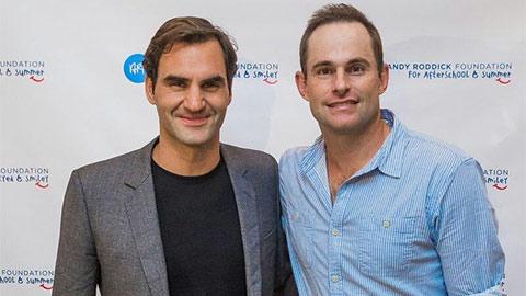 Andy Roddick bênh Federer trước những chỉ trích từ mẹ Djokovic