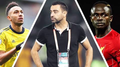 Xavi cảnh báo Barca không nên mua Aubameyang và Mane