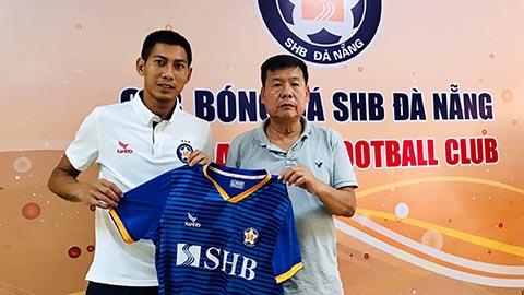 Tuấn Mạnh chính thức ký hợp đồng với SHB Đà Nẵng