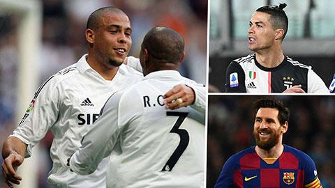 """Cristiano Ronaldo và Messi đều không có cửa trước """"Ronaldo béo"""""""