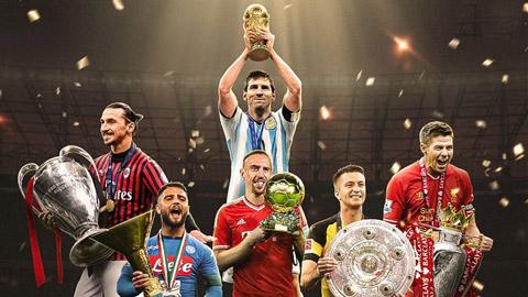 Những siêu sao như Messi, Gerrard, Ibra ước có được danh hiệu nào nhất?