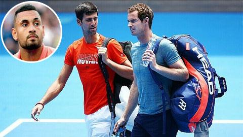 """Djokovic """"tuổi gì"""" so với Murray"""
