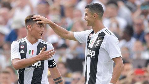 Ronaldo - Dybala & những song sát huyền thoại của Juve