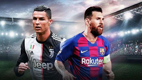 Messi xếp sau Ronaldo trong top 50 nhân vật có ảnh hưởng nhất thế giới bóng đá