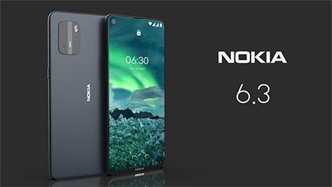 Nokia 6.3 đẹp long lanh, camera 'chất' giá mềm khiến fan phát cuồng